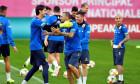 Vasile Mogoș, în timpul unui antrenament la echipa națională / Foto: Sport Pictures
