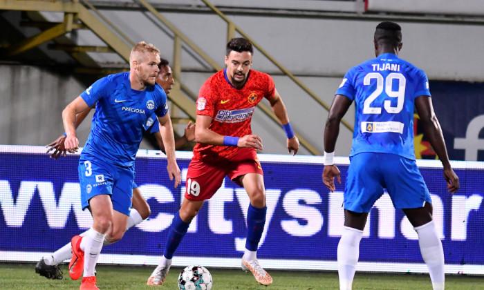 Adrian Petre, în meciul cu Slovan Liberec / Foto: Sport Pictures