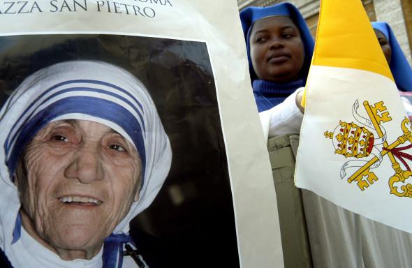 Mother Teresa Beatified By Pope John Paul II
