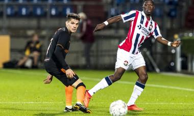Ianis Hagi, în meciul cu Willem, din turul trei preliminar al Europa League / Foto: Profimedia