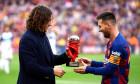 Carles Puyol - Leo Messi