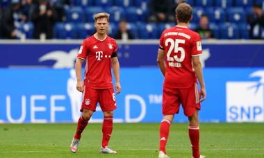 Joshua Kimmich și Thomas Muller în meciul Hoffenheim - Bayern Munchen / Foto: Getty Images