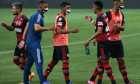 2020 Brasileirao Series A: Palmeiras v Flamengo Play Behind Closed Doors Amidst the Coronavirus (COVID - 19) Pandemic
