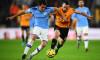 Eric Garcia, în duel cu Diego Jota într-un meci Wolverhampton - Manchester City / Foto: Getty Images