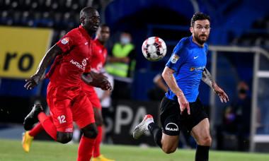 Ousmane Viera, într-un meci Viitorul - Hermannstadt / Foto: Sport Pictures