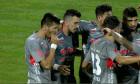 Ioan Hora a deschis scorul pentru UTA în meciul cu Dinamo / Foto: Captură Digi Sport