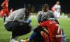 Florinel Coman, accidentat în meciul cu Backa Topola / Foto: Sport Pictures