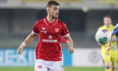 Vlad Dragomir, în tricoul Perugiei / Foto: Profimedia