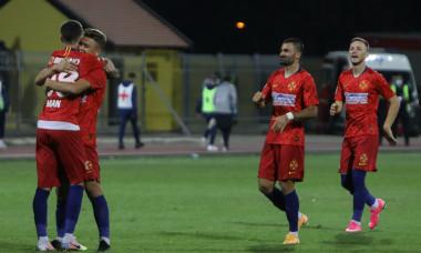 Valentin Crețu, în meciul Backa Topola - FCSB / Foto: Sport Pictures