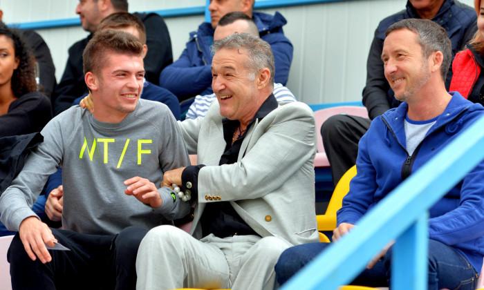 Florin Tănase, alături de Gigi Becali / Foto: Sport Pictures