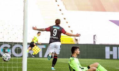 Bogdan Stancu, după golul marcat cu Beșiktaș / Foto: Twitter@Genclerbirligi SK