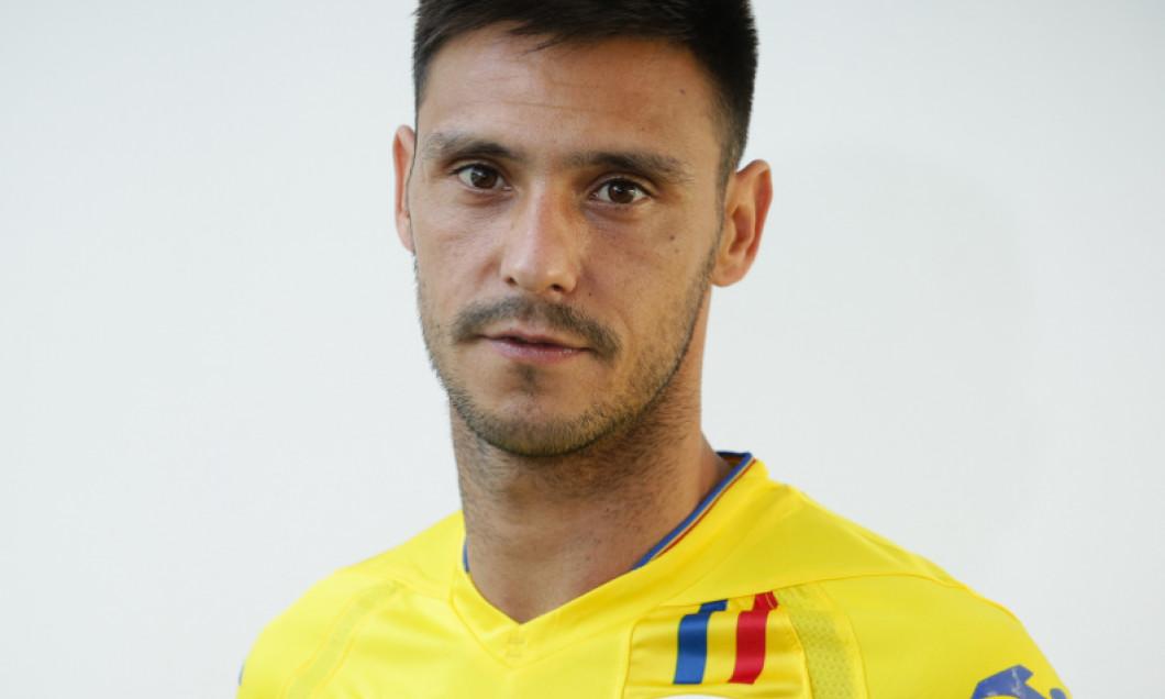 Mario Camora, în tricoul echipei naționale/ foto: FRF.ro