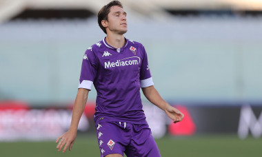 Federico Chiesa, în tricoul Fiorentinei / Foto: Getty Images