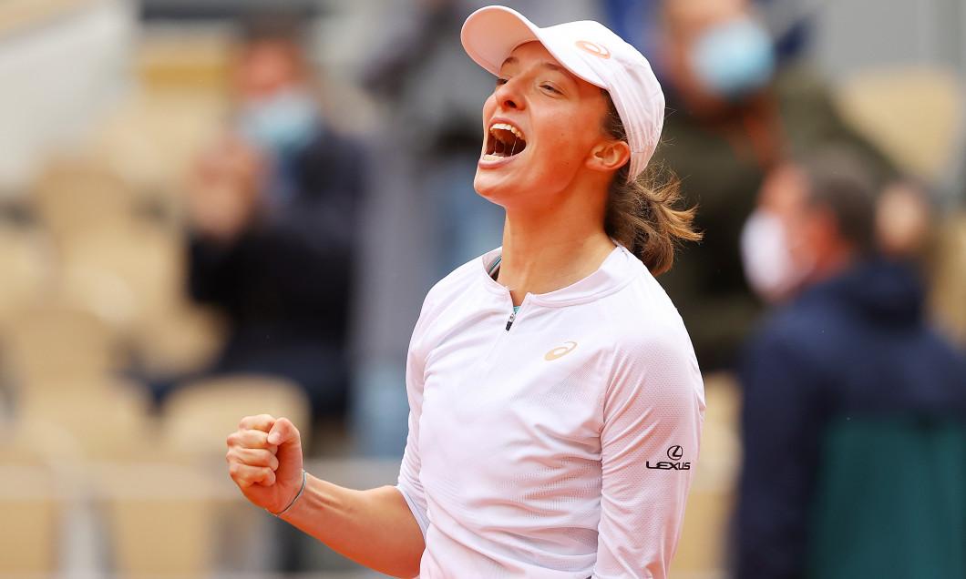 Iga Swiatek, campioana de la Roland Garros 2020 / Foto: Getty Images
