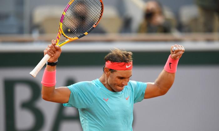 Rafael Nadal, la Roland Garros 2020 / Foto: Getty Images
