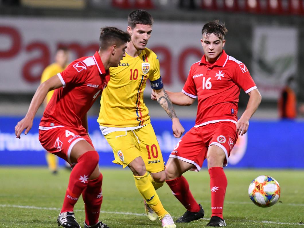 FOTBAL:ROMANIA U21-MALTA U21, PRELIMINARIILE CE 2021 (13.10.2020)