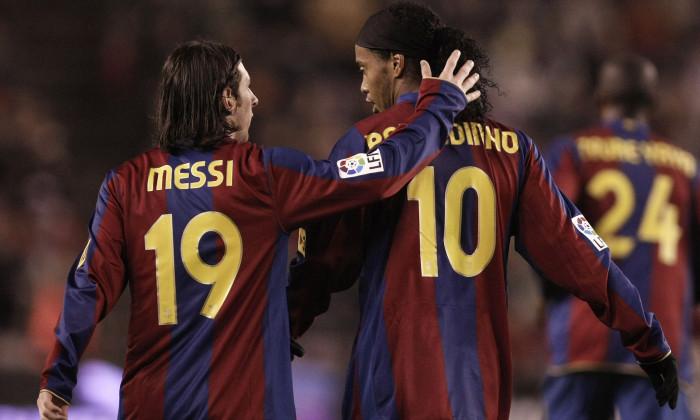 Messi - Ronaldinho