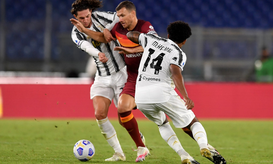 Italy: AS Roma Vs Juventus FC