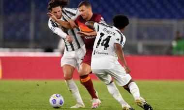 Italy: AS Roma Vs Juventus FC