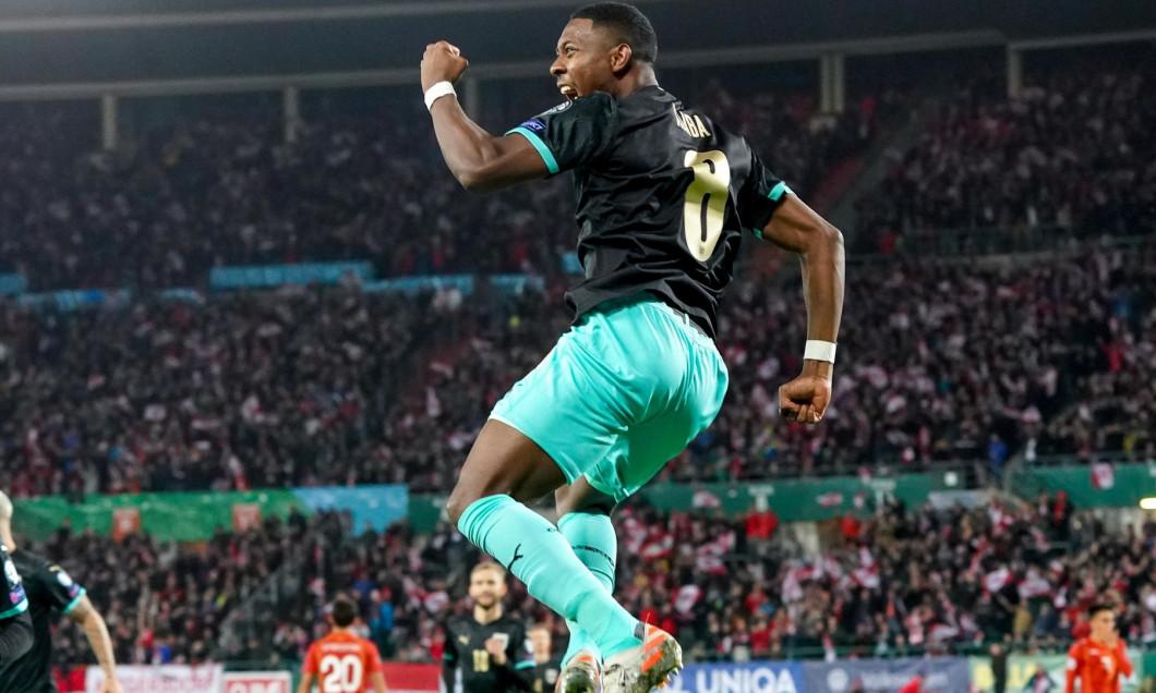 Football: UEFA Euro 2020 Qualifying, Wien, Austria - 16 Nov 2019