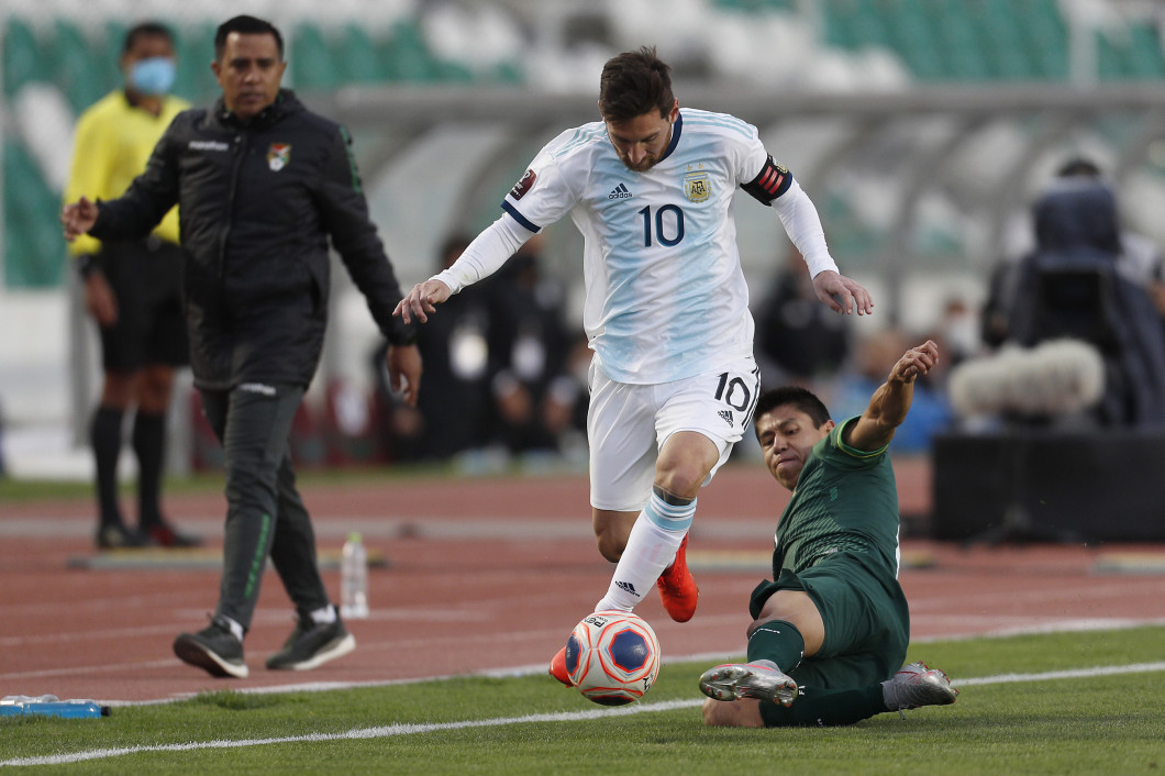 Bolivia v Argentina - South American Qualifiers for Qatar 2022