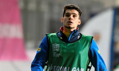 Ianis Hagi, înainte de România - Austria / Foto: Sport Pictures