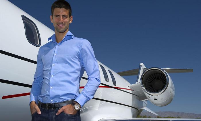 Novak Djokovic Bombardier Press Conference