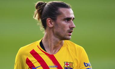 Antoine Griezmann, în tricoul Barcelonei / Foto: Getty Images