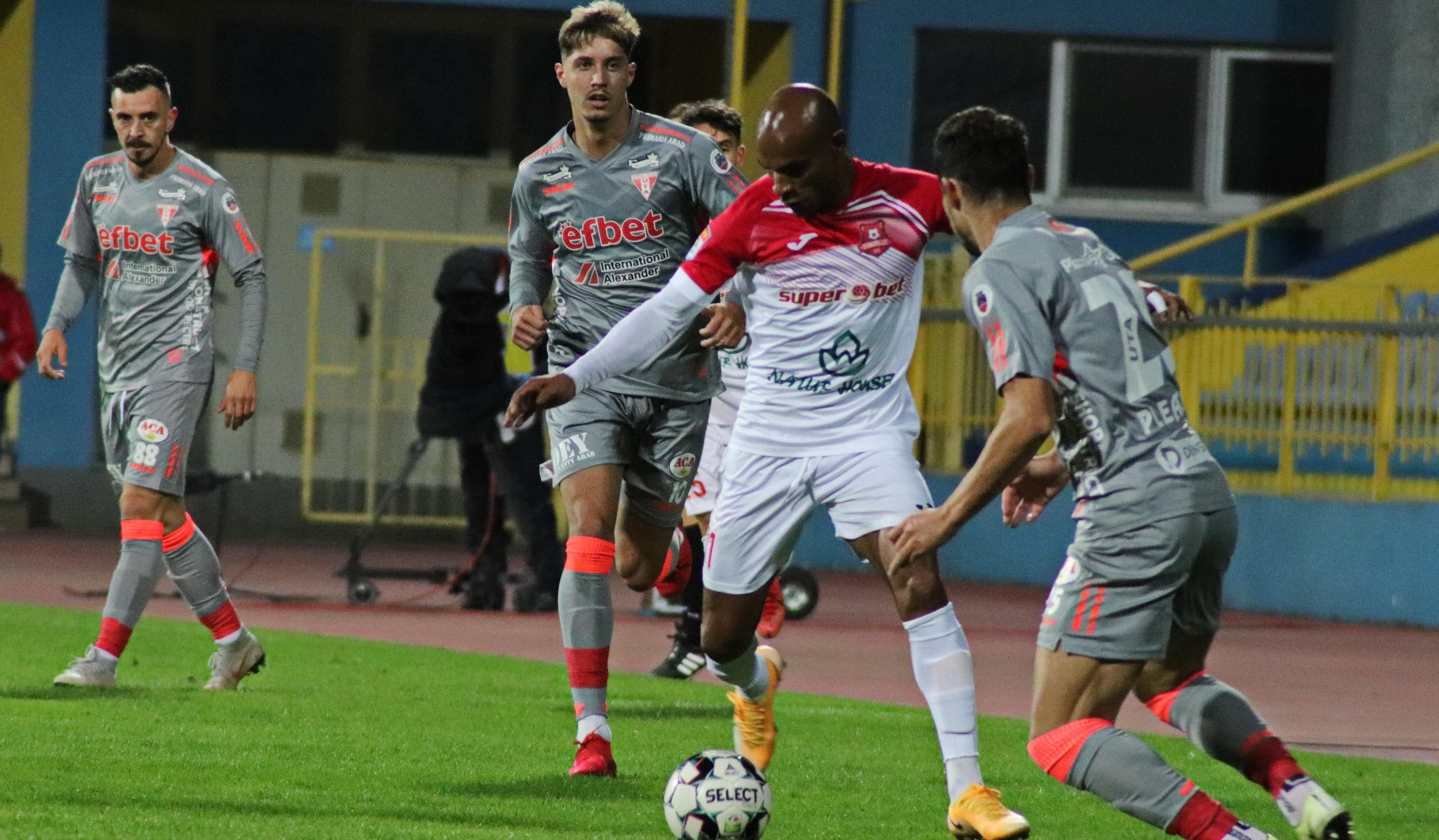 Hermannstadt - UTA Arad 1-1. Sibienii bifează a patra remiză a sezonului, iar arădenii, pe a cincea