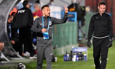 Ruben de la Barrera, antrenorul Viitorului / Foto: Sport Pictures