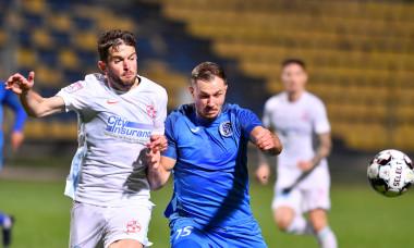 Sergiu Buș, în meciul cu Academica Clinceni / Foto: Sport Pictures