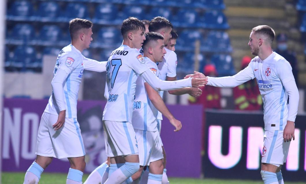 Octavian Popescu, în meciul Academica Clinceni - FCSB / Foto: Sport Pictures