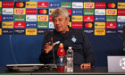 FC Dynamo news conference ahead of match against FC Juventus, Kyiv, Ukraine - 19 Oct 2020
