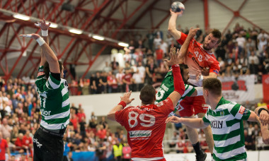 HANDBAL MASCULIN:CS DINAMO BUCURESTI-SPORTING LISABONA, OPTIMI, LIGA CAMPIONILOR (1.03.2020)