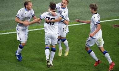Russia Soccer Champions League Zenit - Brugge