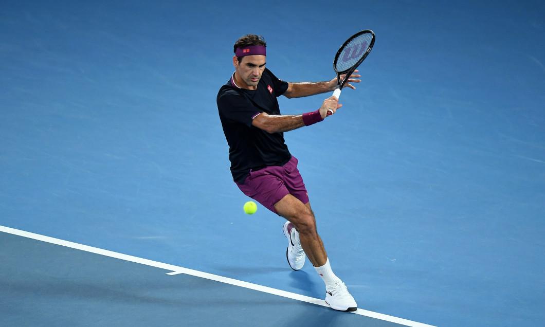 Roger Federer, la Australian Open 2020 / Foto: Getty Images