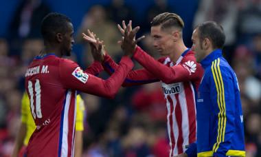 Jackson Martinez și Fernando Torres, într-un meci Atletico Madrid - Valencia / Foto: Getty Images