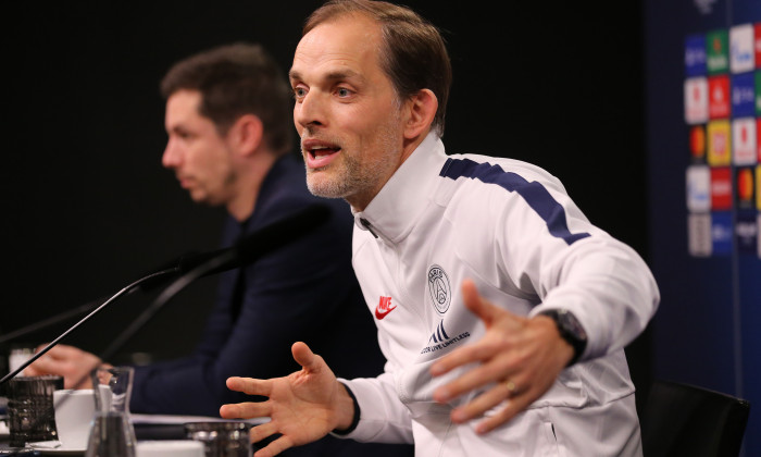 Paris Saint-Germain Training Session And Press Conference