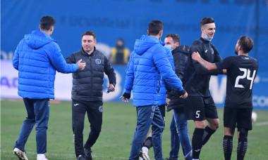 Ilie Poenaru, la finalul meciului Universitatea Craiova - Academica Clinceni / Foto: Sport Pictures