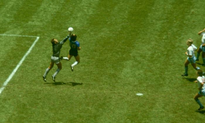 Diego Maradona Hand of God Goal Argentina v England 1986