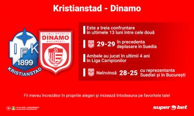 Kristianstad - Dinamo, EHF Champions League - pentru digisport.ro