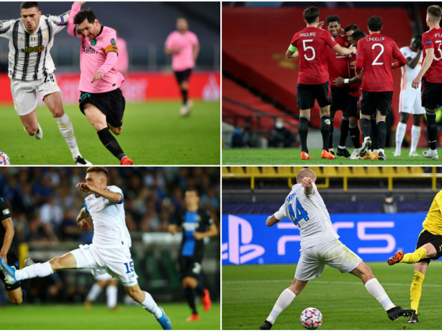 video ucl barcelona victory for juventus manchester united evening score dinamo kiev tied in the end psg success in turkey newsbeezer