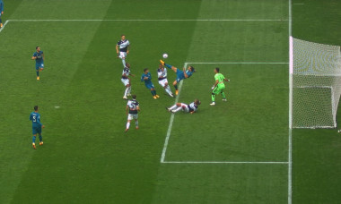 Zlatan Ibrahimovic, gol spectaculos pentru Milan la Udine / Foto: Captură Digi Sport