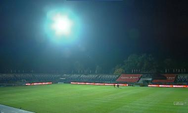 Probleme cu nocturna la Iași, înainte de meciul Poli - Viitorul / Foto: Captură Digi Sport