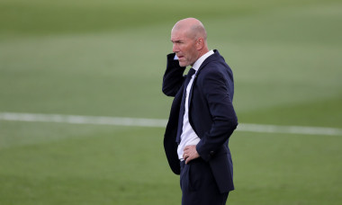 Zinedine Zidane, antrenorul lui Real Madrid / Foto: Getty Images