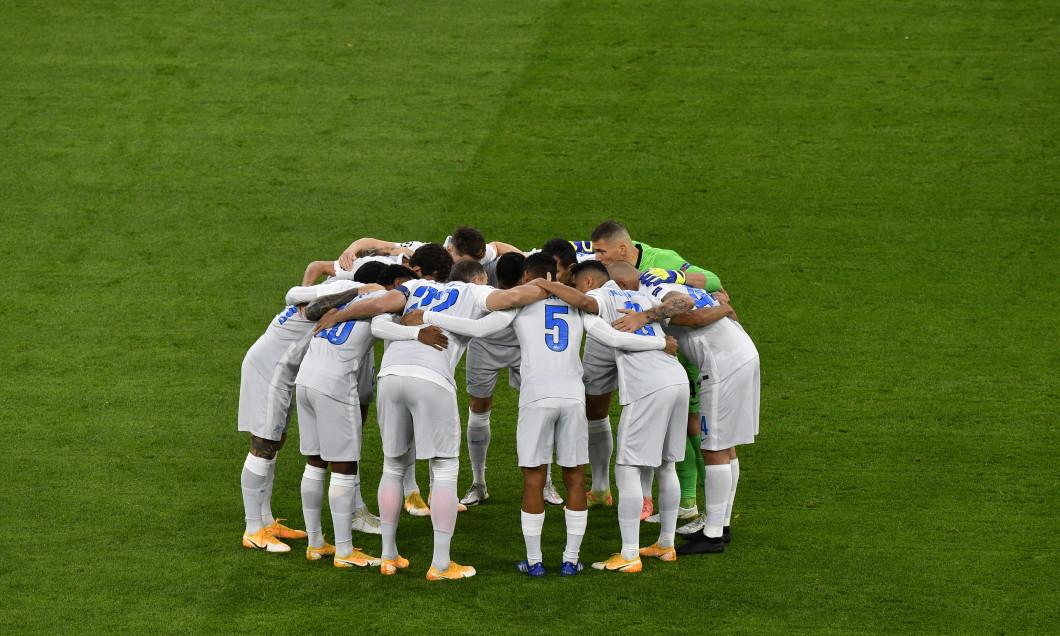 Fotbaliștii lui Zenit, înaintea meciului cu Borussia Dortmund din Champions League / Foto: Getty Images