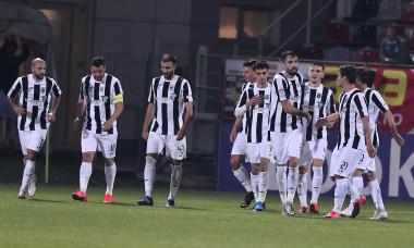Fotbaliștii Astrei, în meciul cu Poli Iași / Foto: Sport Pictures