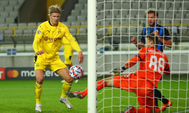 Club Brugge KV v Borussia Dortmund: Group F - UEFA Champions League