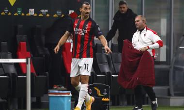 Zlatan Ibrahimovic, după ce a fost schimbat în meciul cu Lille / Foto: Getty Images