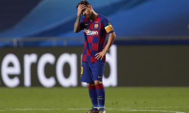 Lionel Messi, atacantul Barcelonei, într-un meci cu Bayern Munchen din Champions League / Foto: Getty Images